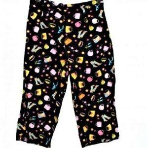 Stretch Capri Pants Size 8 28-29x16 Girl Stuff